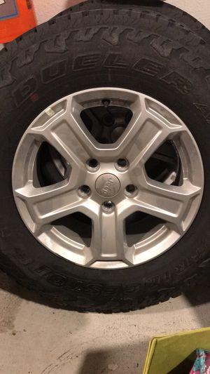 New Bridgestone tires/wheels -DuelerA/T (5each) for Sale in Georgetown, TX