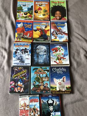 DVD Children's Movies for Sale in Northbrook, IL
