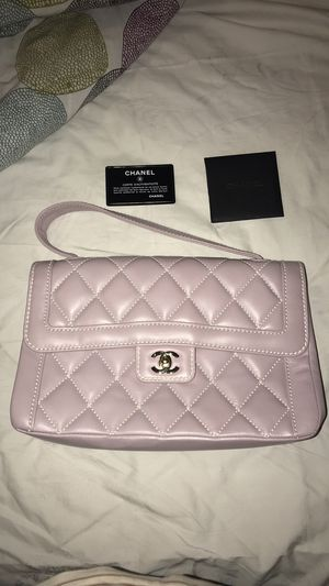 Authentic Chanel Classic Flap Bag for Sale in Wheaton, MD