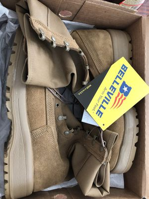 New Belleville C390 size 11.0 M Army Boots for Sale in FT LEONARD WD, MO