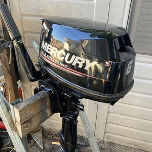 mercury 6 hp outboard 4 stroke for Sale in Miami, FL