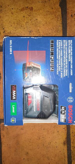 Self leveling Cross-line Laser <Bosch> 1/2 off retail price! for Sale in Phoenix, AZ