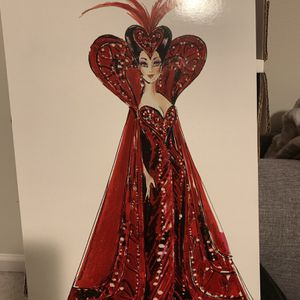 Queen Of Hearts Collector Barbie! for Sale in Brier, WA