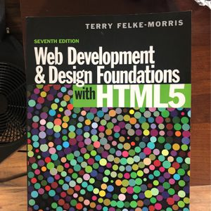 Web Development And Design Foundations for Sale in Seattle, WA