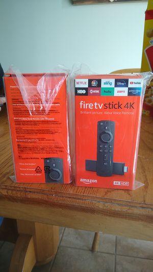 Fire tv stick 4k for Sale in Wichita, KS