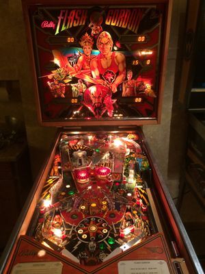 Flash Gordon bally pinball machine fully working for Sale in Lakewood, CO