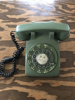 Rotary Dial Telephone - Avocado Green for Sale in Portland,  OR