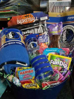 Mavericks easter or gift basket for Sale in Cedar Hill, TX