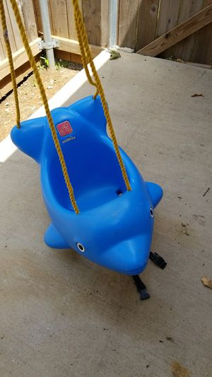 Dolphin baby swing .3$ for Sale in Irving, TX