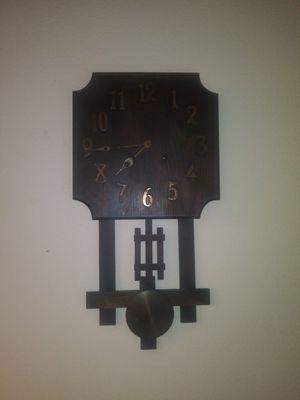 Antique mission oak chime clock for Sale in Hudson, FL