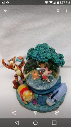 Winnie the Pooh and Friends Fireflies Snowglobe for Sale in Groveland, FL