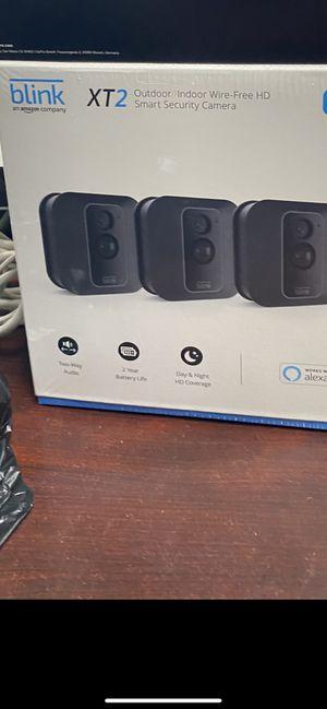 Blink XT2 out door in door cameras wire free💸💸💸💰💰💰🏴☠️🏴☠️🏴☠️🏴☠️ for Sale in Anaheim, CA