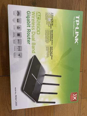 TP Link wireless dual band gigabit router for Sale in Round Rock, TX