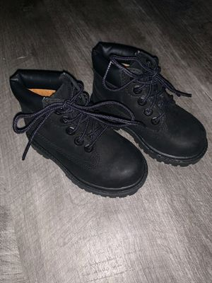 Toddler Black Suede Timberland Boots for Sale in Rancho Cucamonga, CA