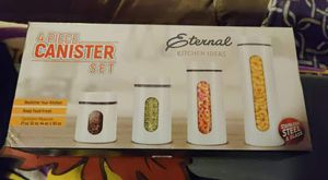 4 piece food canister set for Sale in West Covina, CA
