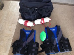 Life Jacket - Boat Bumpers - Gear Bag -Nerf Football for Sale in Huntington Beach, CA