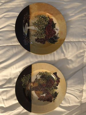 Set of two Decorative plates Cypress House Sonoma Cheese Factory for Sale in Fort Lauderdale, FL