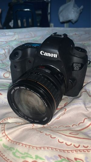Canon 6D / 2 lens for Sale in Brooklyn, NY