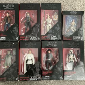 Star Wars Black Series Action Figures for Sale in Canton, GA