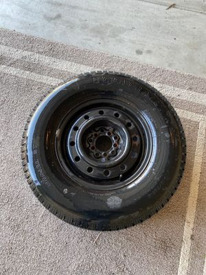 Brand new universal 5 lug trailer tire and rim for Sale in Bakersfield, CA
