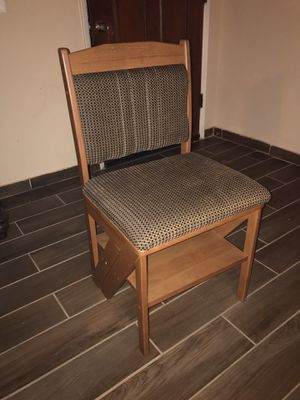 Wooden chair/ ladder for Sale in Phoenix, AZ
