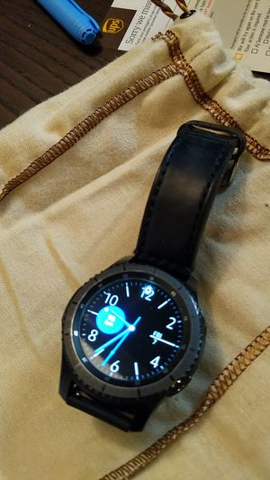 Samsung Gear S3 Frontier 4G LTE VERIZON for Sale in North Chesterfield, VA
