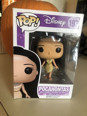 Brand New Disney Pocahontas Funko Pop. Retired and Vaulted Collectible! for Sale in Hudson, FL
