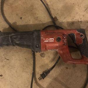 Hilti reciprocating saw for Sale in Oxon Hill, MD