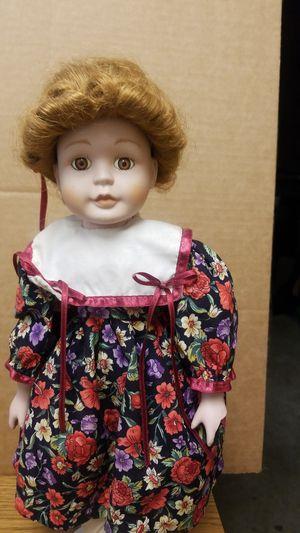 "Antique porcelain doll 17"" for Sale in Bellflower, CA"