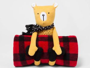 Bear Throw Blanket Buddy Set for Sale in Katy, TX
