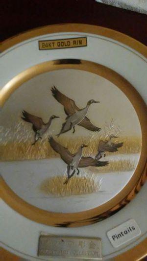 24 kt gold rim Chorkin art plate for Sale in Tallahassee, FL