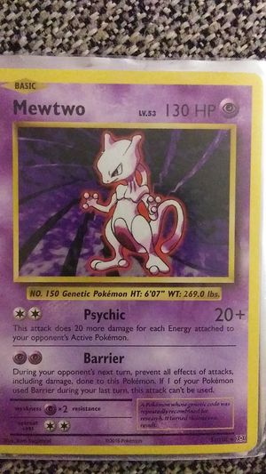 Base set Mewtwo for Sale in Milwaukee, WI