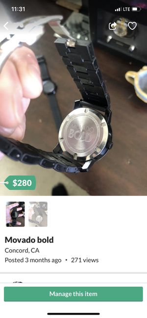 Movado bold for Sale in San Ramon, CA