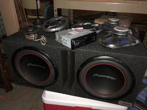 Pioneer sub kenwood receiver zapco amp and speakers for Sale in Vancouver, WA