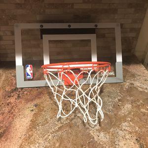 Spaulding Over the Door Basketball Hoop for Sale in Riverside, CA