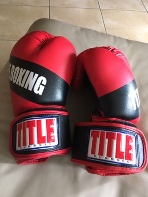 TITLE Brand Boxing Gloves for Sale in Orlando, FL