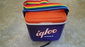 Igloo cooler lgbt strap rainbow vintage for Sale in Murray, UT