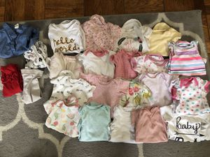 Baby girl 3-6 month clothes for Sale in Washington, DC