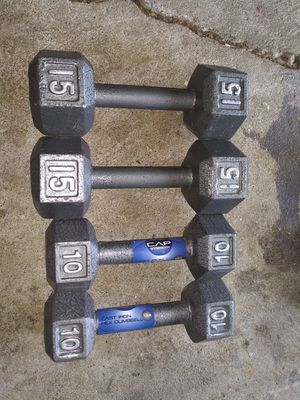 HEX DUMBBELLS WEIGHT SETS for Sale in Columbus, OH