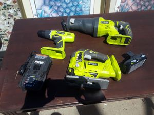 Ryobi tool set combo for Sale in Los Angeles, CA