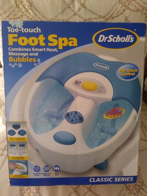 Foot Spa Massage and Bubles for Sale in Port St. Lucie, FL