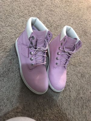 Pink Timberlands Boots for Sale in Cicero, IL