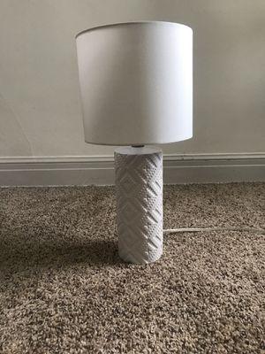 White lamp from Target for Sale in Salt Lake City, UT