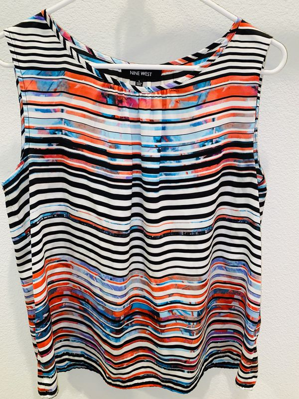 Nine West shell top - size L