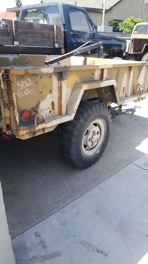 M1001 trailer military trailer for Sale in El Monte, CA