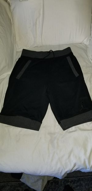 Nike Air Jordan Sweat Shorts Sz Medium Black/Grey for Sale in San Diego, CA