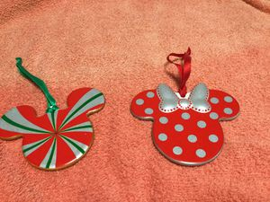 Disney ornaments set of 2 for Sale in Port Richey, FL