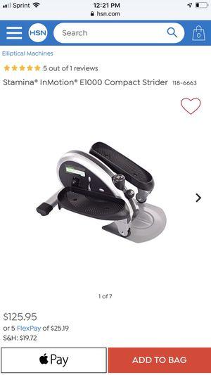 Stamina InMotion Compact Strider / Elliptical for Sale in St. Petersburg, FL