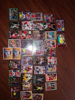 Set of 38 highly sought after Joe Montana cards including 2 when he was at Norte Dame for Sale in Prineville,  OR