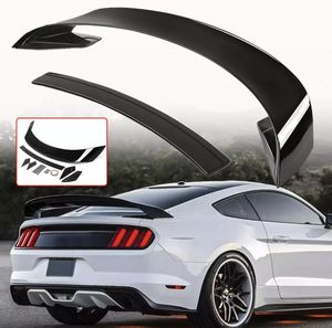 New Mustang gloss black GT350R Wing Spoiler fits 2015 2016 2017 2018 2019 2020 for Sale in Houston, TX